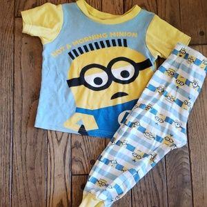 Minions pajama set